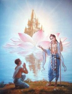 Sri-Nityananda-prabhu-instructs-Jiva-Goswami