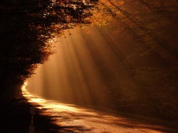 Camino-al-amanecer