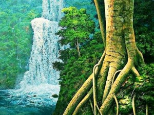 Pinturas de raíces de arboles (2)