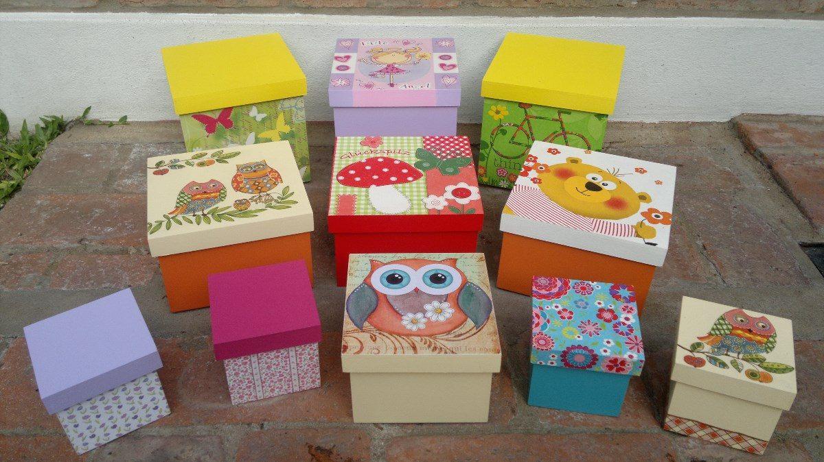 Cajas infantiles decoradas beautiful aprende como decorar cajas de carton with cajas infantiles - Cajas infantiles decoradas ...