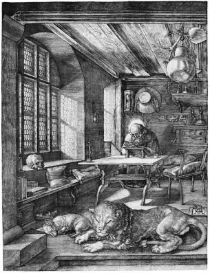 Dürero-san-jeronimo